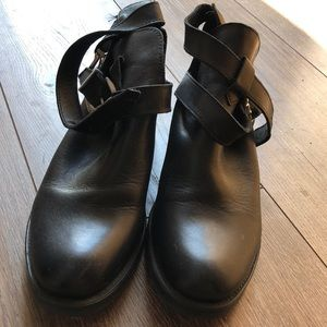 H&M | Genuine Leather Booties
